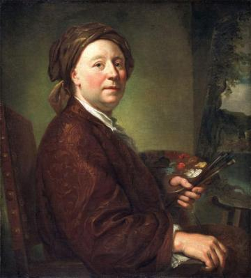 Raphaël Mengs. Portrait de Richard Wilson (1752)