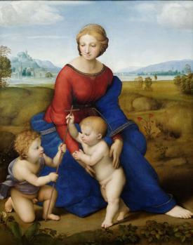 Raphaël. Madone à la prairie (1506)