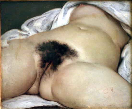 Courbet. l'Origine du Monde (1866)