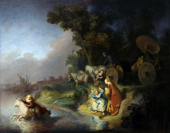 Rembrandt. L'enlèvement d'Europe (1632)