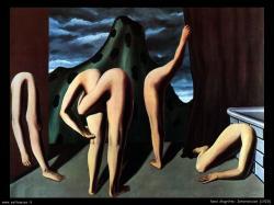 René Magritte. Intermission(1928)