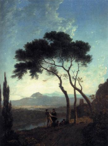 Richard Wilson. Le val de Narni (v. 1760)