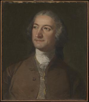 Richard Wilson. Portrait de Francesco Zuccarelli (1751)