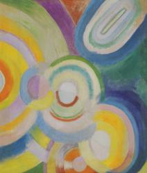 Robert Delaunay. Disques colorés (1913)