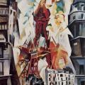 Robert Delaunay. Tour Eiffel (1911)