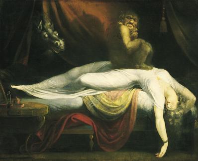 Füssli. Le Cauchemar (1781)
