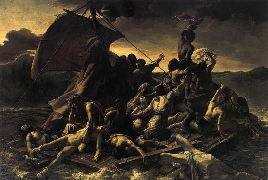Géricault. Le Radeau de la Méduse (1819)