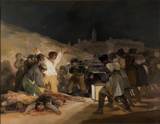 Goya. Tres de Mayo (1814)