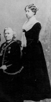 Rosa Bonheur et Anna Klumpke dans les années 1890