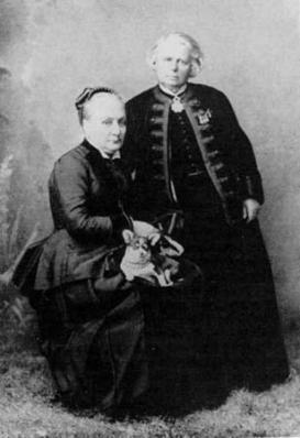 Rosa Bonheur et Nathalie Micas à Nice (1882)