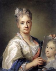 Rosalba Carriera. Autoportrait avec un portrait de sa sœur (1715)