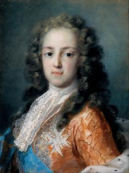 Rosalba Carriera. Louis XV, dauphin de France (1720-21)
