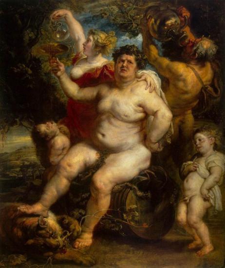 Rubens. Bacchus (1638-40).