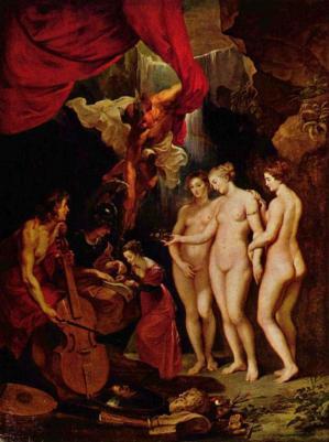 Rubens. L'éducation de Marie de Médicis (1622-25)