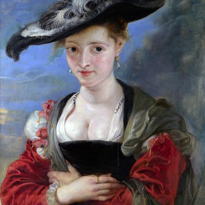 Pierre Paul Rubens. Le Chapeau de Paille ou Suzanne Fourment (1622-25)