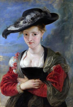 Rubens. Le Chapeau de Paille ou Suzanne Fourment (1622-25)