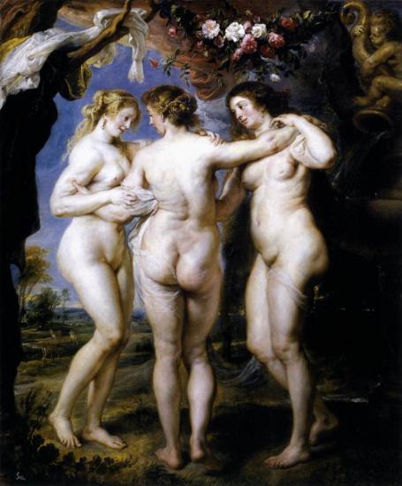Rubens. Les trois Grâces (1636-38)