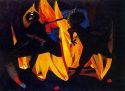 Rufino Tamayo. Enfants jouant avec le feu (1947)