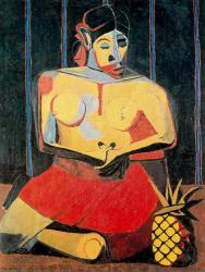 Rufino Tamayo. Femme à l'ananas (1941)