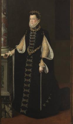 S. Anguissola. Elisabeth de Valois (1561-65)