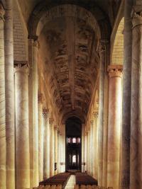 Abbaye de Saint-Savin-sur-Gartempe, nef
