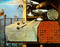 Salvador Dali. Nature morte vivante (1956)
