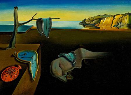 Salvador Dali. Persistance de la mémoire (1931)