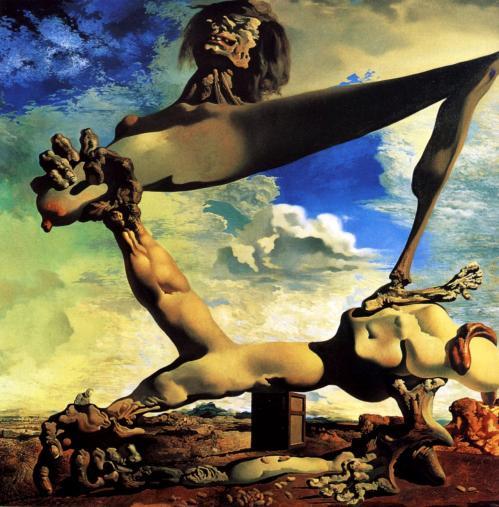 Salvador Dali. Prémonition de la guerre civile (1936)