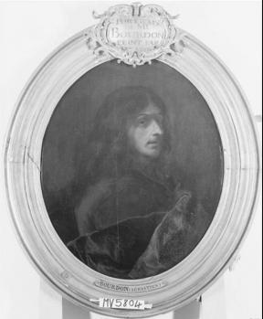 Sébastien Bourdon et Hyacinthe Rigaud. Autoportrait (1650-1670)