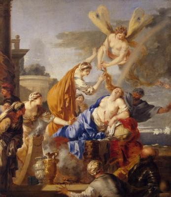 Sébastien Bourdon. La mort de Didon (1637-40)