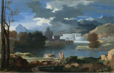 Sébastien Bourdon. Paysage classique (17e siècle)