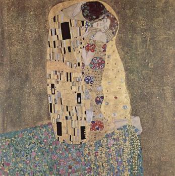 Klimt. Le Baiser, 1907-08