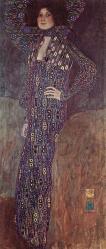 Klimt. Portrait d'Emilie Flöge, 1902