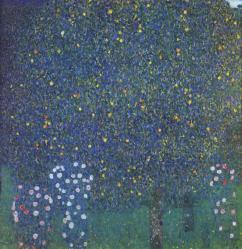 Klimt. Rosiers sous les arbres, 1905