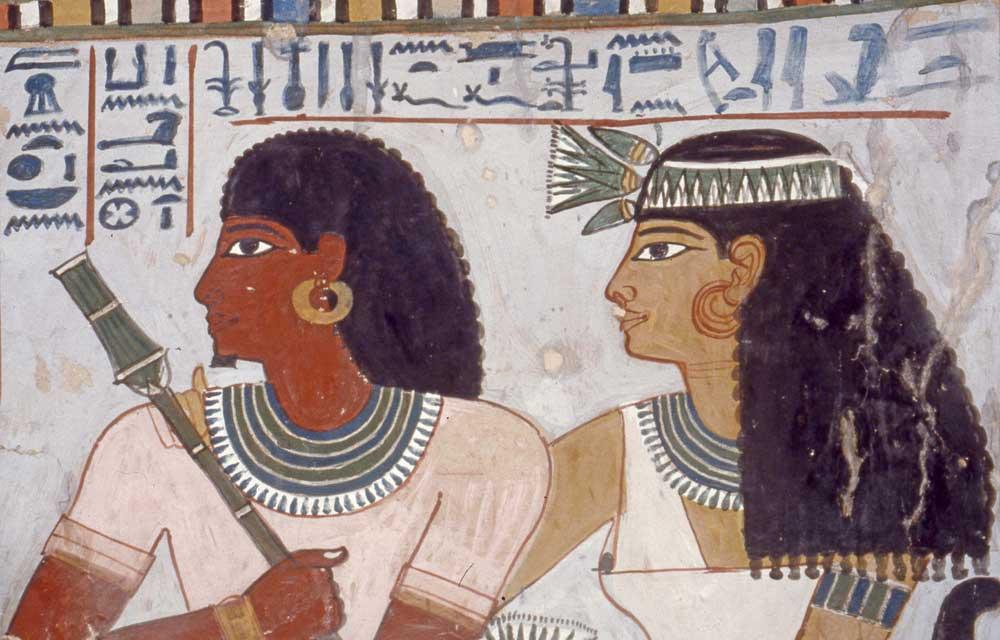 Peinture égyptienne Dans L Antiquité