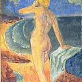 Paul Sérusier. Femme nue devant la mer (1909)