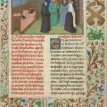 Simon Marmion. Conversation avec l'âme de Guy de Thurno (1475)