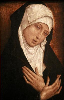 Simon Marmion. La Vierge de douleur (1489)