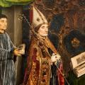 Simon Marmion. L'évêque Guillaume Fillastre (1455-59)
