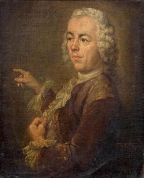 Simon Mathurin Lantara. Autoportrait (1750-78)