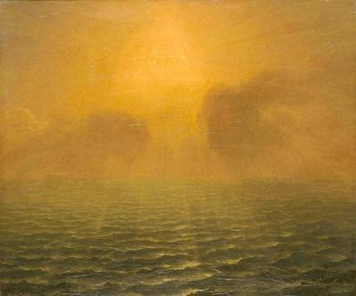 Simon Mathurin Lantara. L'Esprit de Dieu planant sur les eaux (1752)