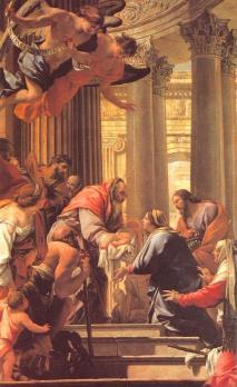 Simon Vouet. La Présentation au Temple (1640-41)