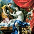 Simon Vouet. La toilette de Vénus (1629)