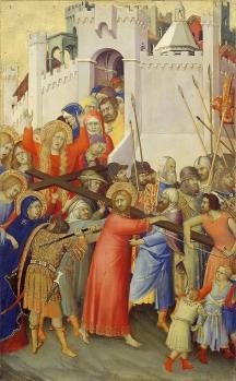 Simone Martini. Le Portement de Croix (v. 1335)