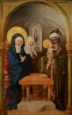 Stefan Lochner. La présentation au temple (1447)