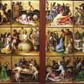 Stefan Lochner. Le martyre des apôtres (v. 1435)