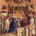 Stefan Lochner. Présentation au temple (1447)