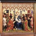Stefan Lochner. Retable des saints patrons de Cologne (v. 1442)