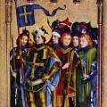 Stefan Lochner. Retable des saints patrons de Cologne, aile droite (v. 1442)