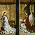 Stefan Lochner. Retable des saints patrons de Cologne, fermé (v. 1442)